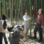 愛媛県から竹細工の武智壽夫さん「人生の楽園」で紹介