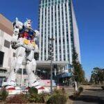 東京お台場の機動戦士のガンダムが3月5日に撤去される
