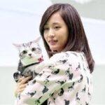 愛猫ポッツと前田淳子インターペットアワード授賞式に!